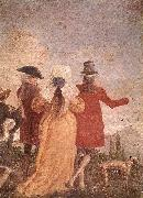 The Promenade art TIEPOLO, Giovanni Domenico