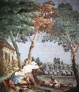 Peasants at Rest r TIEPOLO, Giovanni Domenico