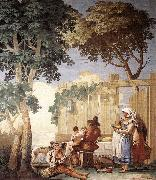 Family Meal  kjh TIEPOLO, Giovanni Domenico