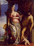 Allegory of Wisdom and Strength wt VERONESE (Paolo Caliari)