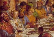 The Marriage at Cana (detail) jh VERONESE (Paolo Caliari)