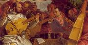 The Marriage at Cana (detail) we VERONESE (Paolo Caliari)