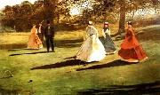 Croquet Players Winslow Homer