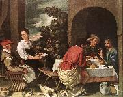 The Supper at Emmaus ag ORRENTE, Pedro
