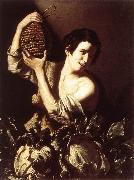 Boy with a Flask and Cabbages SALINI, Tommaso
