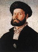 Portrait of a Venetian Man af SCOREL, Jan van