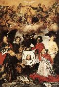 Coronation of the Virgin with Saints  a SERODINE, Giovanni