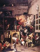 The Studio of the Painter ar SUBLEYRAS, Pierre