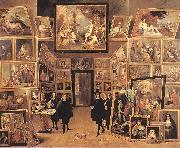 Archduke Leopold Wilhelm in his Gallery fyjg TENIERS, David the Younger