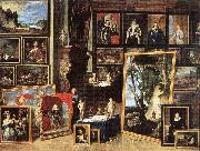 The Gallery of Archduke Leopold in Brussels xgh TENIERS, David the Younger