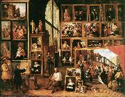 The Gallery of Archduke Leopold in Brussels at TENIERS, David the Younger
