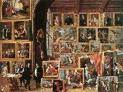 The Gallery of Archduke Leopold in Brussels TENIERS, David the Younger