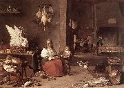 Kitchen Scene sg TENIERS, David the Younger