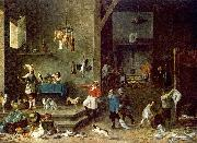 The Kitchen t TENIERS, David the Younger