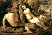 Adam and Eve ar TINTORETTO, Jacopo
