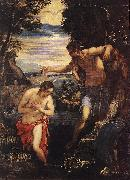 Baptism of Christ  sd TINTORETTO, Jacopo