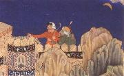 The Crescent moon turned downwards Bihzad