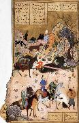 Sultan Sanjar and the wildow Bihzad