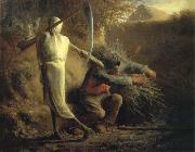 Death and the woodcutter Jean Francois Millet