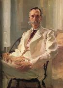 Man with a Cat Cecilia Beaux