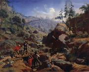 Miners in the Sierras Charles Christian Nahl and august wenderoth