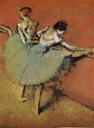 Actress Edgar Degas