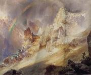 Rainbow over the Grand Canyon of the Rellowstone Thomas Moran