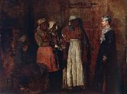 A Visit from the Old Mistress Winslow Homer