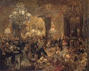 Ball Supper Adolph von Menzel