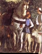 Servant with horse and dog Andrea Mantegna
