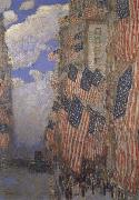 The Fourth of July Childe Hassam