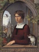 Portrait of the Painter Franz Pforr Friedrich overbeck