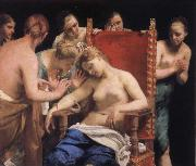 Suicied of Cleopatra Guido Cagnacci