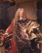 Count Philipp Ludwing Wenzel of Sinzendorf Hyacinthe Rigaud