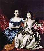 Mary and Elizabeth Royall John Singleton Copley