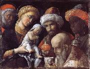 The adoration of the Konige Andrea Mantegna