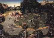 Stag hunt of Elector Frederick the Wise Lucas Cranach the Elder