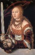 Fudith with the head of Holofernes Lucas Cranach the Elder