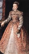 Isabella of Valois,Queen of Span SANCHEZ COELLO, Alonso