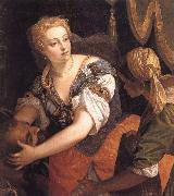 Fudith with the head of Holofernes VERONESE (Paolo Caliari)