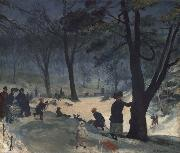 Central Park William Glackens