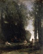 Idyll camille corot