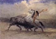 Last of the Buffalo Albert Bierstadt