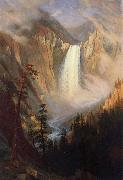 Yellowstone Falls Albert Bierstadt