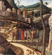 Detail of The Agony in the Garden Andrea Mantegna