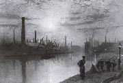 Reflections on the Aire On Strike Atkinson Grimshaw