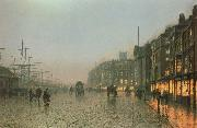Liverpoool from Wapping Atkinson Grimshaw