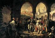 Napoleon Bonaparte Visiting the Plague-stricken at Jaffa Baron Antoine-Jean Gros