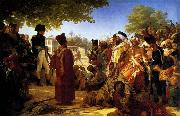 Napoleon Pardoning the Rebels at Cairo Baron Pierre Narcisse Guerin
