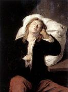 Man Sleeping David Ryckaert
